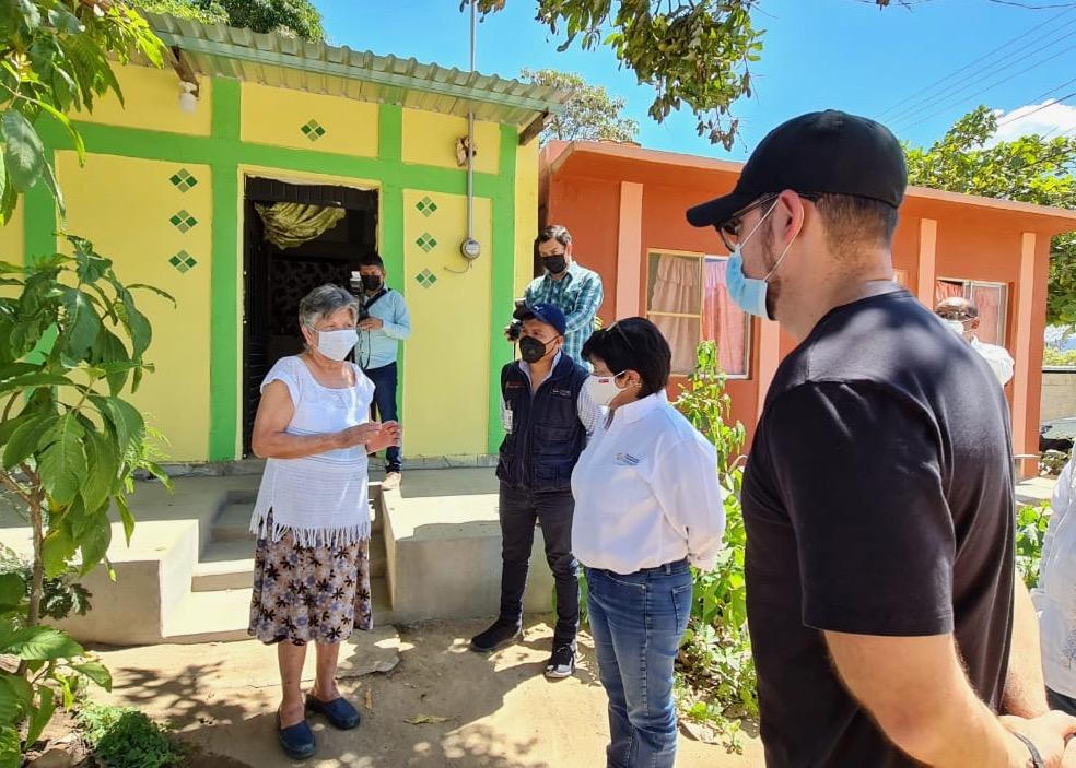 Entrega Sedatu viviendas reconstruidas en Chiapas