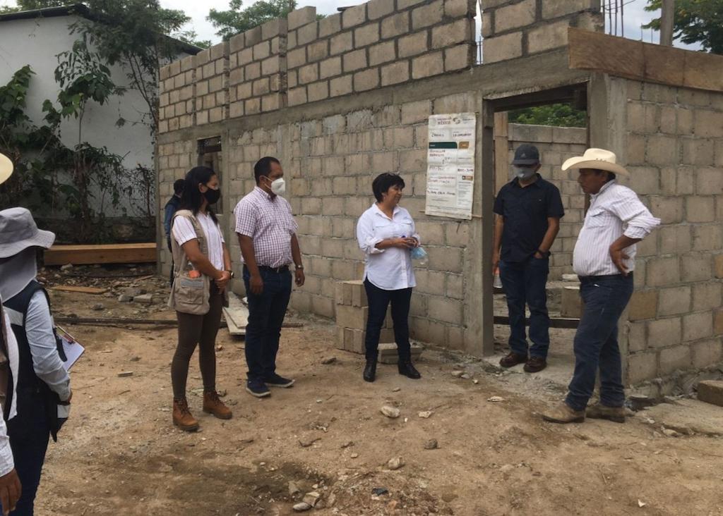 Avanza en Chiapas Programa Nacional de Reconstrucción; se invierten más de 280 mdp para vivienda en 14 municipios