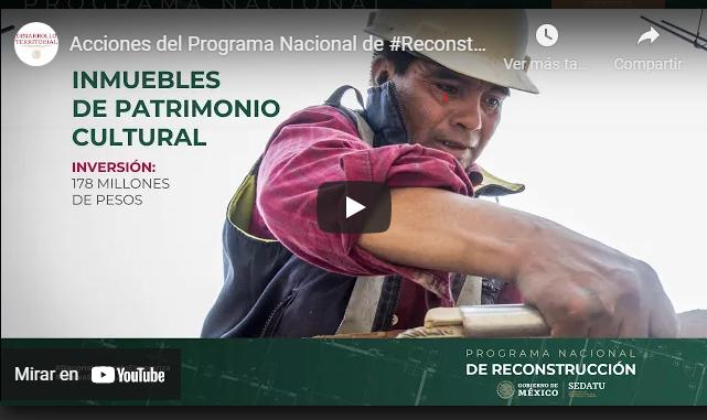 Acciones del Programa Nacional de #Reconstrucción en #Juchitán #Oaxaca
