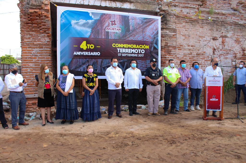 Sedatu ha invertido más de 8 mil mdp en Oaxaca para reconstrucción de inmuebles afectados por sismos: David Cervantes